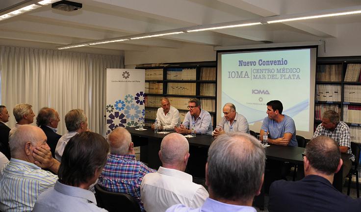 Visitamos el Centro Médico de Mar del Plata, con quienes recientemente se firmó un convenio de prestación destinado a agilizar y facilitar la atención de los afiliados.