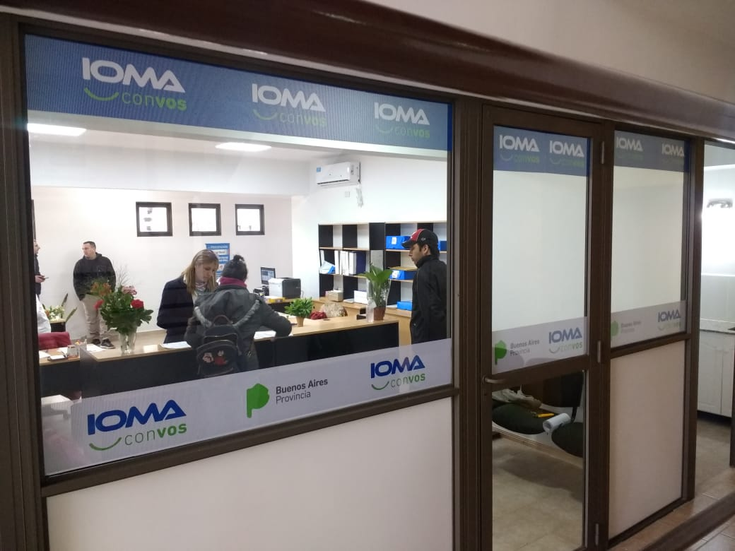 Interior de la Delegación Gral. Pinto